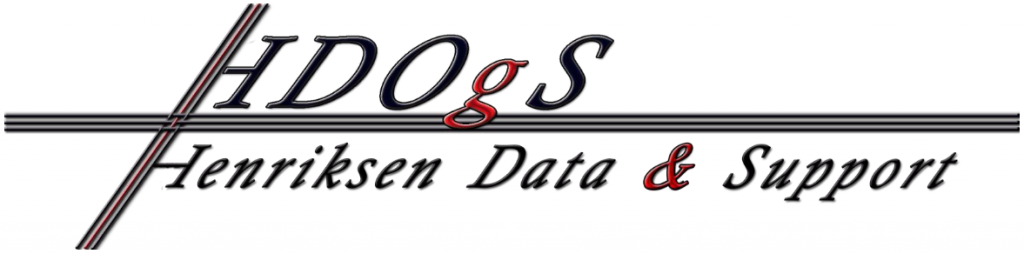Henriksen Data & Support Logo
